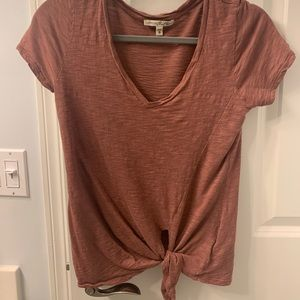 Express one eleven top with tie